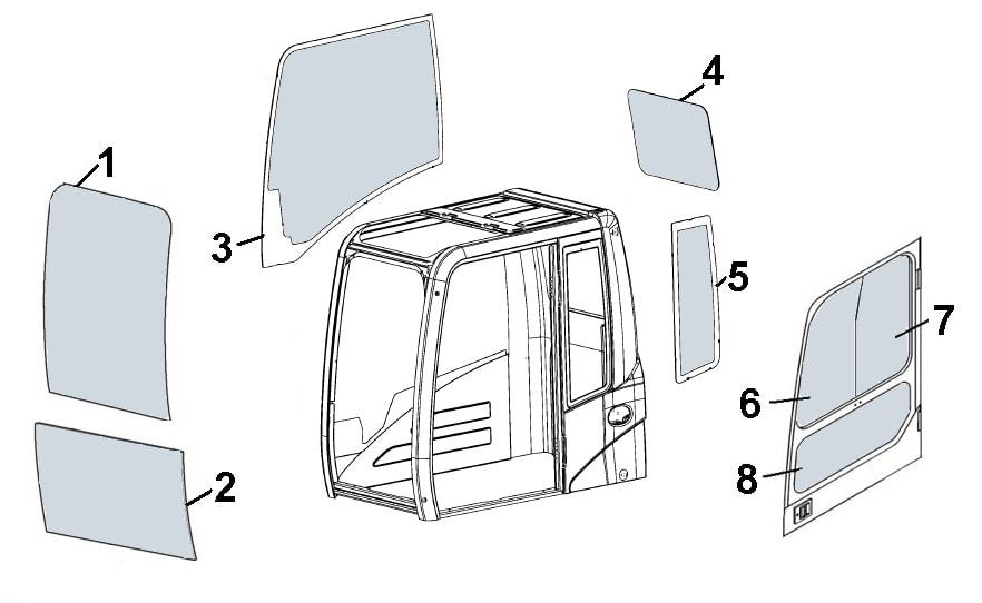 »зготовление стекол на спецтехнику уль¤новск сканер дл¤ грузовиков и спецтехники купить
