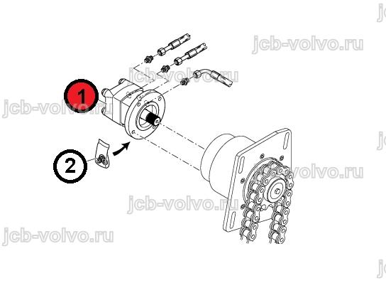 привод транспортера гидромотором