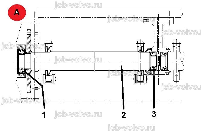 Вал приводной на конвейер ленточные конвейеры роликоопоры нижние